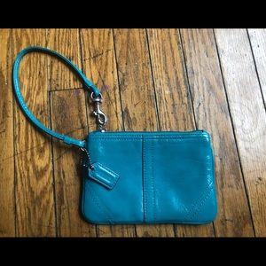 Coach coin / card holder
